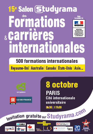 08 10 2016 salon studyrama des formations et carri res - Studyrama salon paris ...