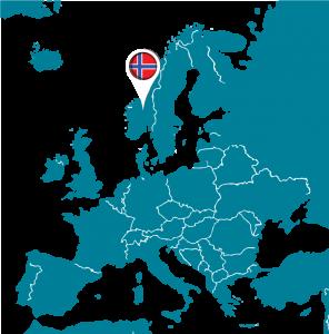 Carte Europe Norvege.Norvege Euroguidance