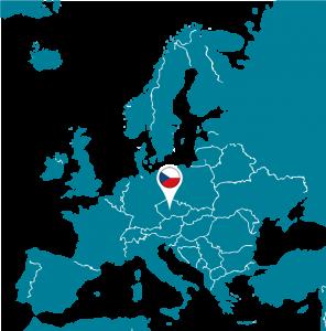 Republique Tcheque Carte Europe.Republique Tcheque Euroguidance