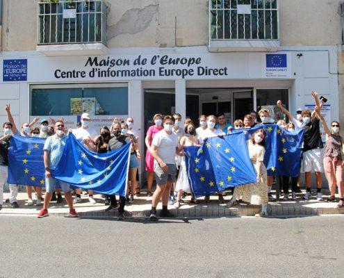 Les trente participants étaient à Nîmes ce vendredi.