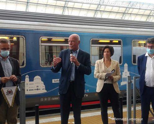 Connecting Europe Express a fait halte à Bordeaux